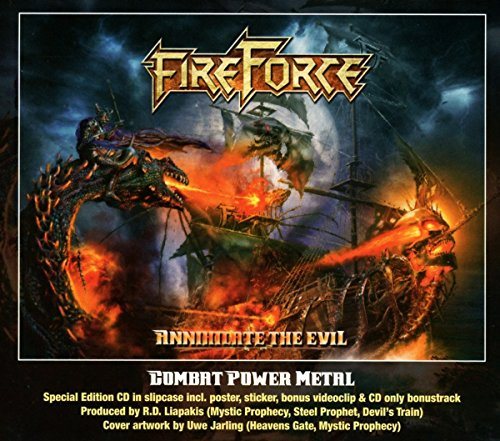 Fireforce: Annihilate The Evil (Audio CD)