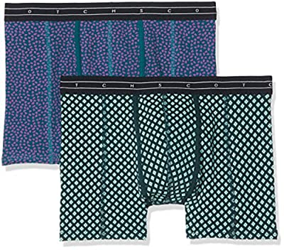 Scotch & Soda Men's 2 Colourful Boxer Shorts, pack of 2