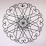 Demask Design Black Color Iron Wire Handcrafted Metal Wall Art Sculpture Wall Decor And Hanging