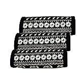 AF-WAN Gepäck Griff Wraps Neopren Griff Wrap Griff Griff Identifier für Reisetasche Gepäck Koffer (3 schwarz ) (BLACK)