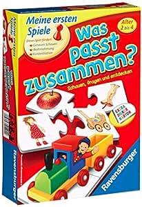 """Ravensburger 21402 - erste Spiele """"Was passt zusammen?"""""""