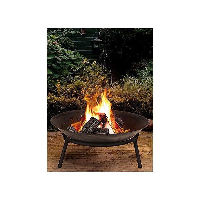 Ambiance Feuerstelle Mit 3 Beinen Anthrazit Durchmesser 50cm