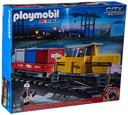 Playmobil - Tren mercancías radiocontrol 5258