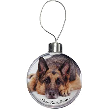 German Shepard Bauble Dogs