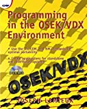 Programming in the Osek/VDX Environment.