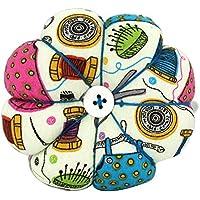 rosenice alfiletero creativos calabaza Diseño Costura Pins Cojín para costura artesanía (1)