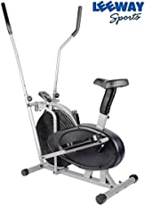 Leeway Orbitrek Exercise Bike with Dual Action Trainer and Seat