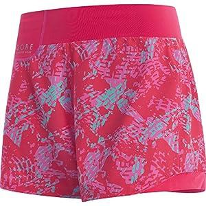 Gore Running Wear Damen Stadt-Laufshorts, Super Leicht, Atmungsaktiv, Gore Selected Fabrics, Sunlight Lady Print Shorts, TSPSUN
