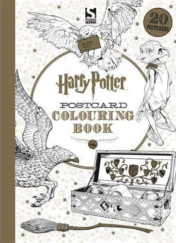 Harry Potter. Postcard Colouring Book