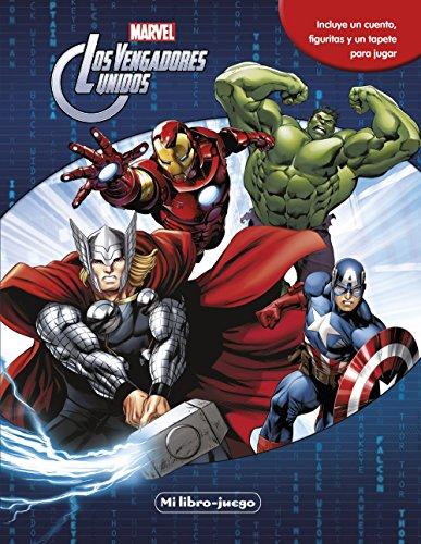 Los vengadores. Libroaventuras: Incluye un cuento, figuritas y un tapete para jugar (Marvel. Los Vengadores) por Marvel