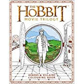 The Hobbit Movie Trilogy Colouring Book (Colouring Books)