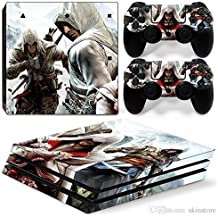 Elton Assassin's Creed Theme 3M Skin Sticker Cover For PS4 Pro Console And Controllers