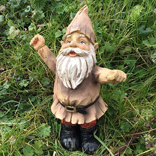 Woodland Garden Gnome–Neutral Farbe Outdoor Skulptur & Ornament 21