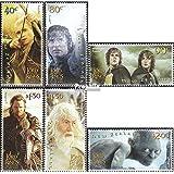 Nueva Zelanda 2130-2135 (completa.edición.) 2003 Sr. el Anillos (sellos para los coleccionistas)