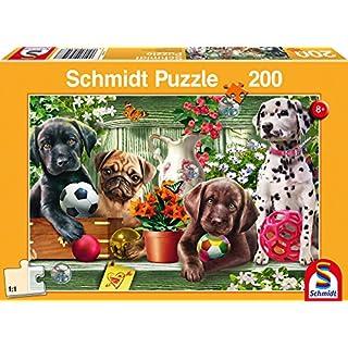 Schmidt Puppy Dogs Children's Jigsaw Puzzle (200-Piece)