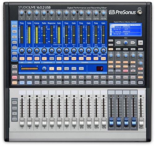 StudioLive 16.0.2 USB 16x2 Performance and Recording Digital Mixer (Recording-mixer Studio)