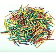 Creativity International - Bolsa de 2000 palillos, varios colores