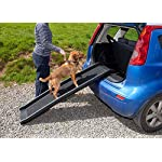 Easipet Pet Ramp for Dogs in Plastic, Folding Lightweight and Strong (Black) 9