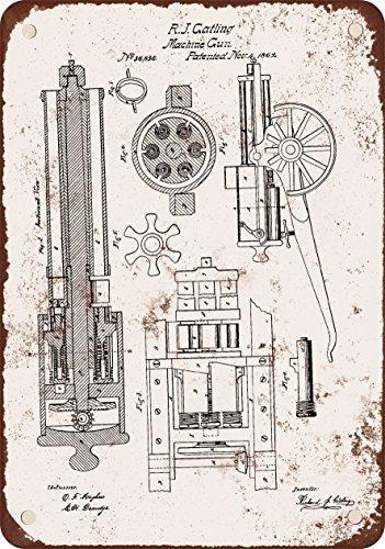 1862-gatling-mitragliatrice-brevetto-stile-vintage-riproduzione-in-metallo-tin-sign-203-x-305-cm