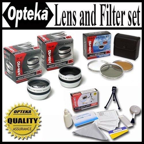 opteka-hd2professional-lens-filter-set-per-il-panasonic-ag-hmc70h-x20ac-x2039-sc1u-dx1ag-dvc15ag-dvc