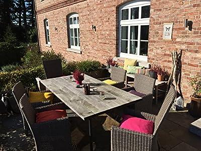 H.O.C.K. Classic Uni Outdoor Sitzkissen Stuhlkissen für drinnen und draußen aus 100% Polyacryl(dralon®) – in verschiedenen Farben von H.O.C.K. auf Gartenmöbel von Du und Dein Garten