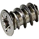 HSI 656171.0 euroschroeven ijzer vernikkeld 6,3x 13 mm 40 stuks stuks