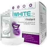 Kit de blanqueamiento dental iWhite Instant 2 con 10 moldes - Hasta 8 tonos más claros - Restaura el esmalte - Blanqueamiento