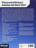 Image de Wissenschaftliche[s] Arbeiten mit Word 2010
