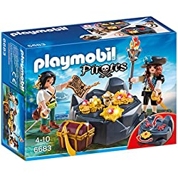 Playmobil - Escondite del tesoro con piratas (66830)