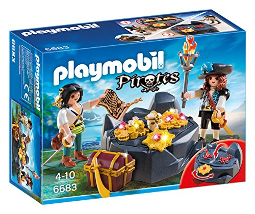 Playmobil - Escondite Tesoro Piratas 66830