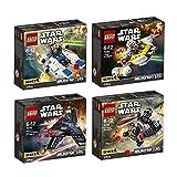 Lego Starwars Set 75160 75161 75162 75163 U-Wing Microfighter + TIE...