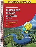 MARCO POLO Reiseatlas Deutschland 2017/2018 1:300 000, Europa 1:4 500 000 (MARCO POLO Reiseatlanten)