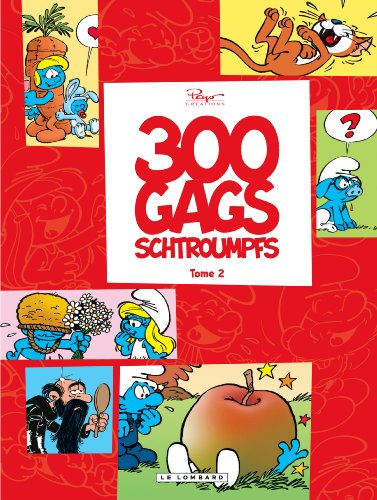 300 gags schtroumpfs - tome 2 - 300 gags schtroumpfs 2