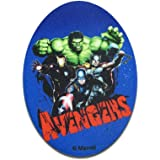 Iron on patches Application 11 x 8 cm Avengers The Hulk Comic black