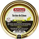 ARNAUD Terrine de Lièvre au Cognac 180 g - Lot de 6