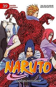 Naruto nº 39 par Masashi Kishimoto