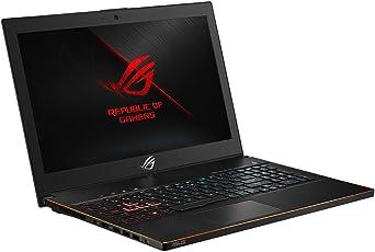 ASUS ROG Zephyrus M GM501GM (90NR00F1-M00070) (Intel Core i7-8750H, 16GB RAM, 256GB SSD + 1TB, NVIDIA GTX1060 (6GB) 39,6 cm (15,6 Zoll, Full-HD, 144Hz/3ms, matt) Gaming Laptop, Windows 10, schwarz [Altes Modell]