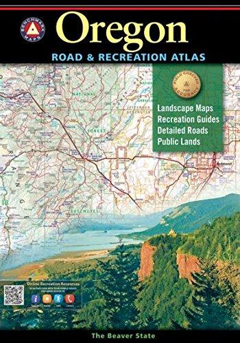 Oregon Road & Recreation Atlas [8th Edition] (Benchmark)
