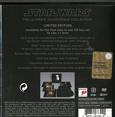 Image of Star Wars - The Ultimate Soundtrack Collection