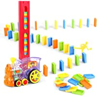 Magicwand® Set of 60 Pcs Educational Domino Building Blocks Rally Engine with Accessories
