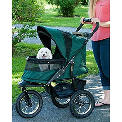 Pet Gear Jogger No-Zip Stroller, Rugged Red 3