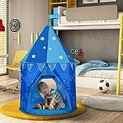 Descrizione: 1.La tenda di WolfWise alla forma di castello si caratterizza con le stelle fluoresenti sul soffitto. La tenda in colore pink/rosa è il regalo ideale per le bambine e aiuta a realizzare il sogno da principessa. 2.La tenda è facil...