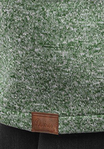 DESIRES Thora Damen Lange Fleecejacke Sweatjacke Jacke Mit Kapuze Und Daumenlöcher, Größe:XL, Farbe:Climb Ivy (3785) - 5