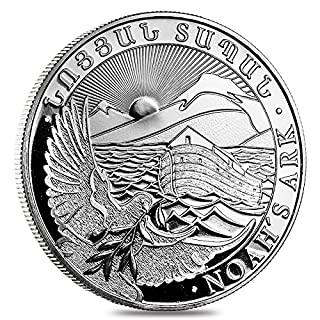 Republic of Armenien noa' S Ark 2017500Dram 1oz (31,15GR.) Silber 999Silver Coin Münze Arche Noah