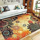 DJHFJ Luxus Jacquard Sofa, Stuhl, Fußmatten Fußmatte Teppiche und Teppichböden für Wohnzimmer Vorleger für Kitchem Schlafzimmer (40x60CM, 1)