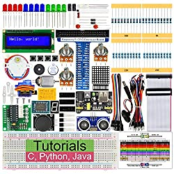 Freenove Ultrasonic Starter Kit for Raspberry Pi 4 B 3 B+, 358 Pages Detailed Tutorials, Python C Java, 171 Items, 47 Projects, Learn Electronics and Programming, Solderless Breadboard