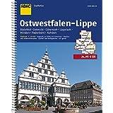 ADAC Stadtatlas Ostwestfalen-Lippe mit Bielefeld, Detmold, Gütersloh, Lippstadt: Minden, Paderborn, Rahden 1:20 000