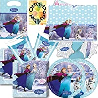 Kindergeburtstag Frozen Eiskönigin 14 Teile für 6-8 Kinder Neu !