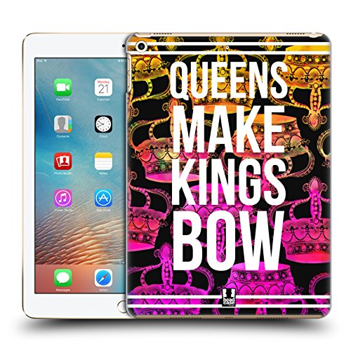 (Head Case Designs Kings Bow Down Krone Rebell Ruckseite Hülle für Apple iPad Pro 2 9.7 (2017))