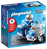 Playmobil - Policía moto con led (6923)